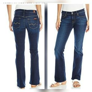 7 for all mankind bootcut jeans size 28 NWOT